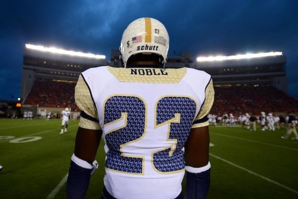 cef7fe51a SportsLogos.Net Best Worst 2012 college football NCAA worst uniform awards  - Georgia Tech
