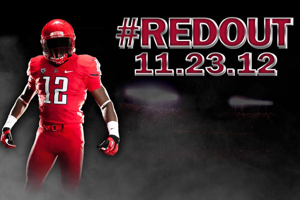 "Arizona Going ""Red-Out"" vs Arizona State – Wearing All Red"