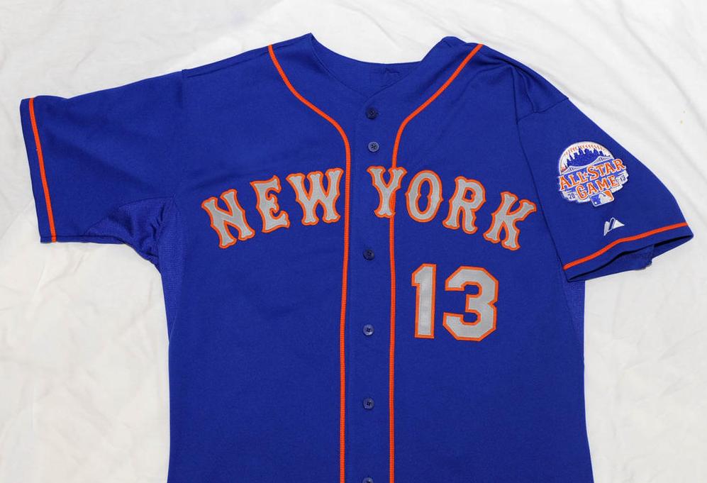 New York Mets 2013 Road Blue Alternate Jersey  90ca30402