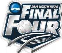 final four logo north texas stadium arlington 2013