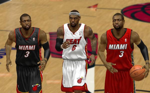 1dd88ac05 Miami Heat Alternate uniforms 2012 2013 new announced white black Noche  Latina - 3