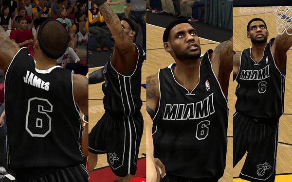 ce528b113 Miami Heat Alternate uniforms 2012 2013 new announced white black Noche  Latina - new black