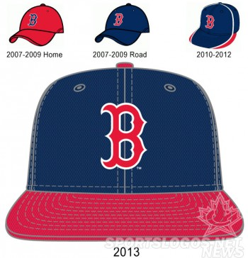 Boston-Red-Sox-BP-Caps-2007-2013