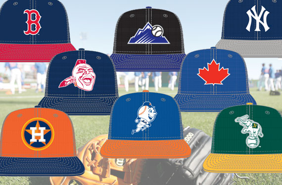 2013 *NEW* MLB Batting Practice Caps and Uniforms