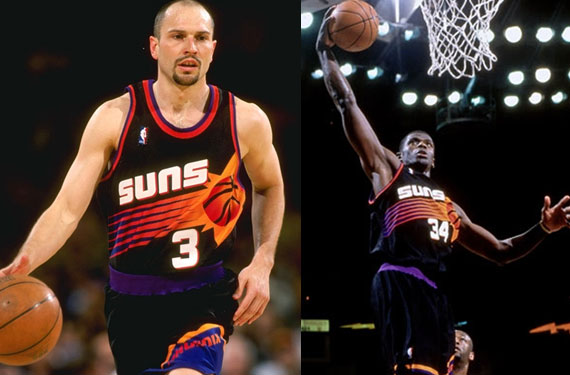 Phoenix Suns Bring Back All-Black Jersey for 2013