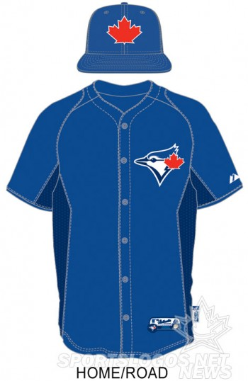 Toronto Blue Jays 2013 BP uniform