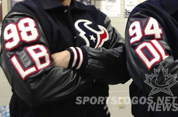 Texans Take it Old School – With High School-Style Letter Jackets