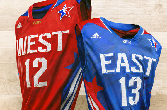 2013 NBA All-Star Game Uniforms Unveiled