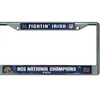 Notre Dame Fightin' Irish 2012 National Champions License Plate