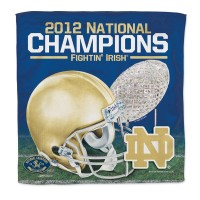 Notre Dame Fightin' Irish 2012 National Champions Towel