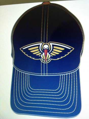 A possibly leaked New Orleans Pelicans logo