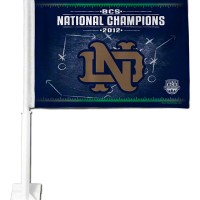 Notre Dame Fightin' Irish 2012 National Champions Flag