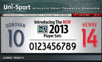 MLS New Player Sets for 2013