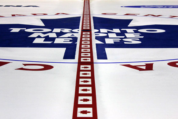 Photo Gallery: Fancy NHL Red Line Designs for 2013
