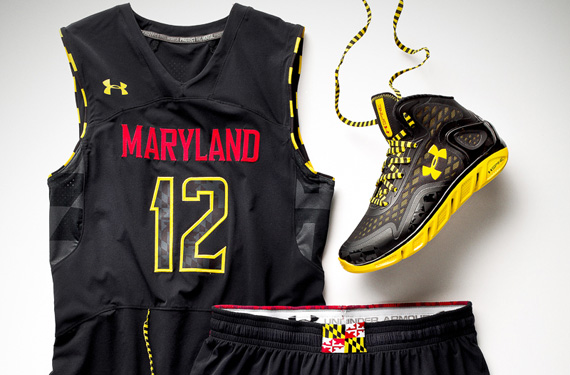 Maryland 'Black Ops' BB Uniform | Chris Creamer's SportsLogos Net