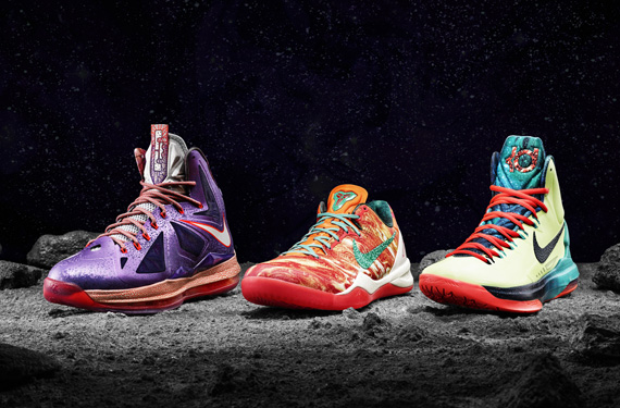 Nike NBA All-Star Game Shoes Inspired by Space (and Houston)