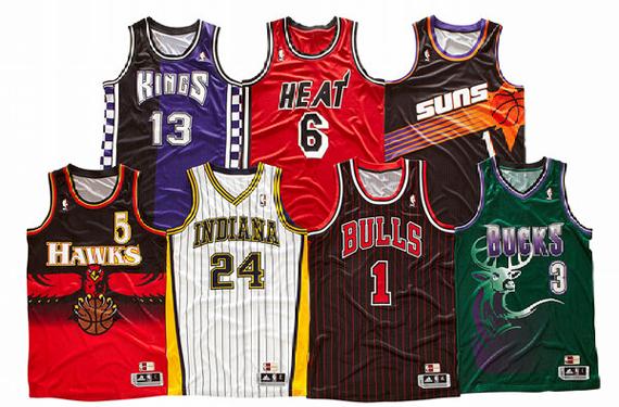 NBA Throwbacks Give us '90s Designs