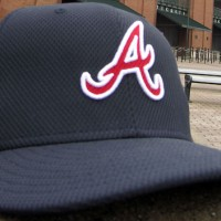 New Atlanta Braves 2013 BP Cap