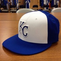 New KC Royals BP Cap, photo courtesy Derrick Goold