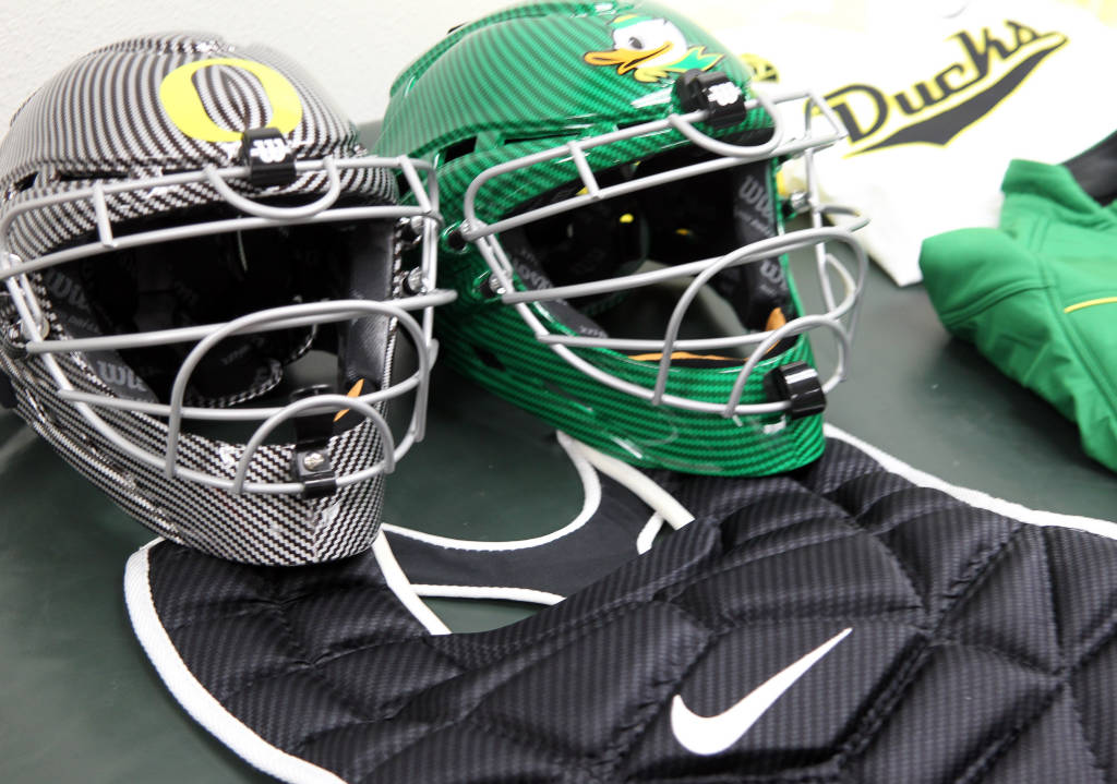 Oregon Ducks Football Helmets 2014 Oregon Ducks Women s softball