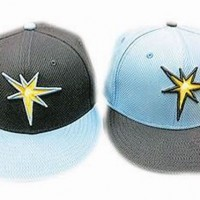 Tampa Bay Rays 2013 BP Caps