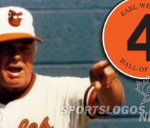 featured Earl Weaver Memorial Patch Orioles