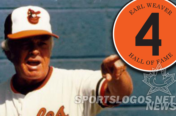 Orioles Wearing Earl Weaver Memorial Patch