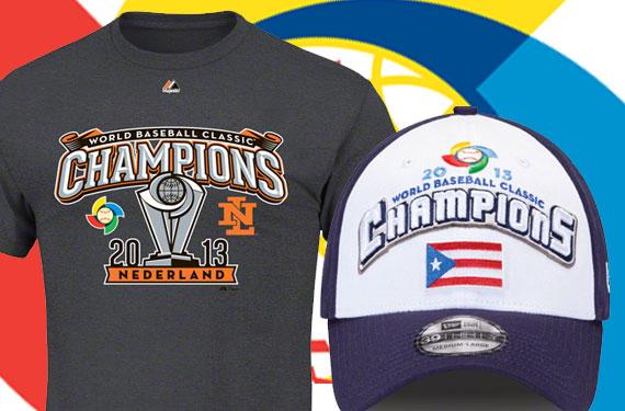 Netherlands, Puerto Rico WBC Phantom Champs Merchandise