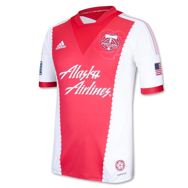 premium selection ffbb4 ae12f red – MLS Jersey Week reveal week portland timbers new ...