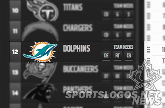 New Dolphins Logo Appears on NFL.com