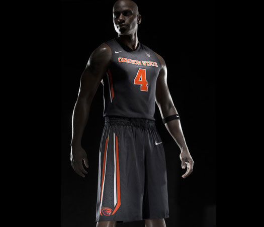 Black Basketball Uniform 9