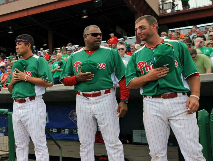 Goin' Green: A photo roundup of St Patricks Day 2013 Uniforms