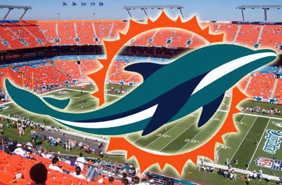 New Dolphins Logo All But Verified, Shown on Jersey