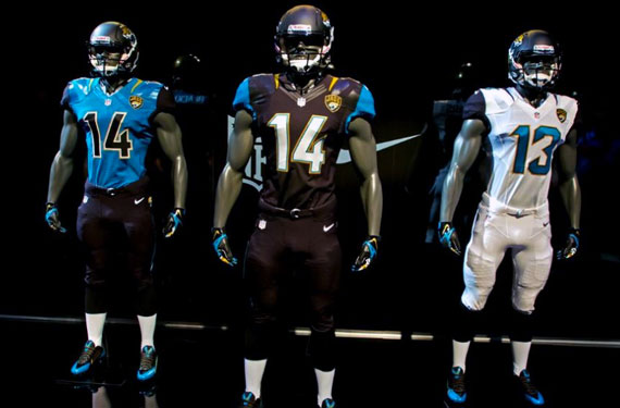 Jacksonville Jaguars Unveil New Uniforms
