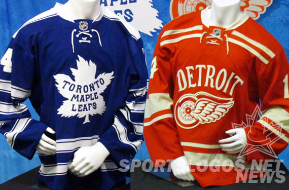 A Detailed Look at the 2014 Winter Classic Jerseys