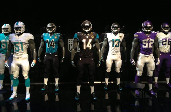 Dolphins, Vikings New Uniforms Leaked