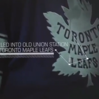 Toronto Maple Leafs 2014 Winter Classic Jersey Front
