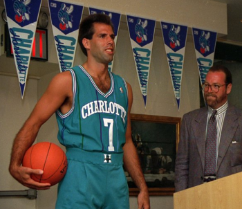 Charlotte Hornets Unveil Uniforms 1988