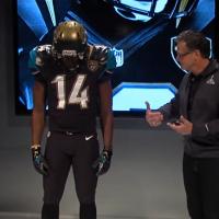 Jacksonville Jaguars 2013 New Uniform Top of Helmet