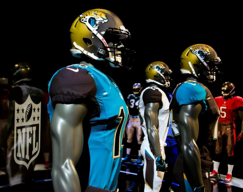 very revolutionary uniform options unveil design three but jerseys pants unique the jaguars all and with two jaguar