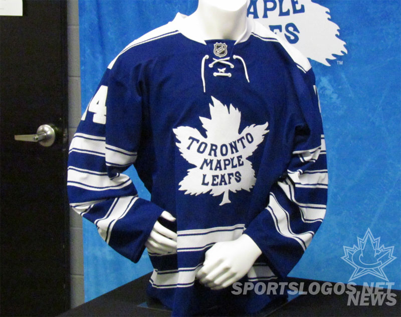 a22bd9534 Toronto Maple Leafs 2014 NHL Winter Classic Jersey (Photo: Clark  Rasmussen/SportsLogos.