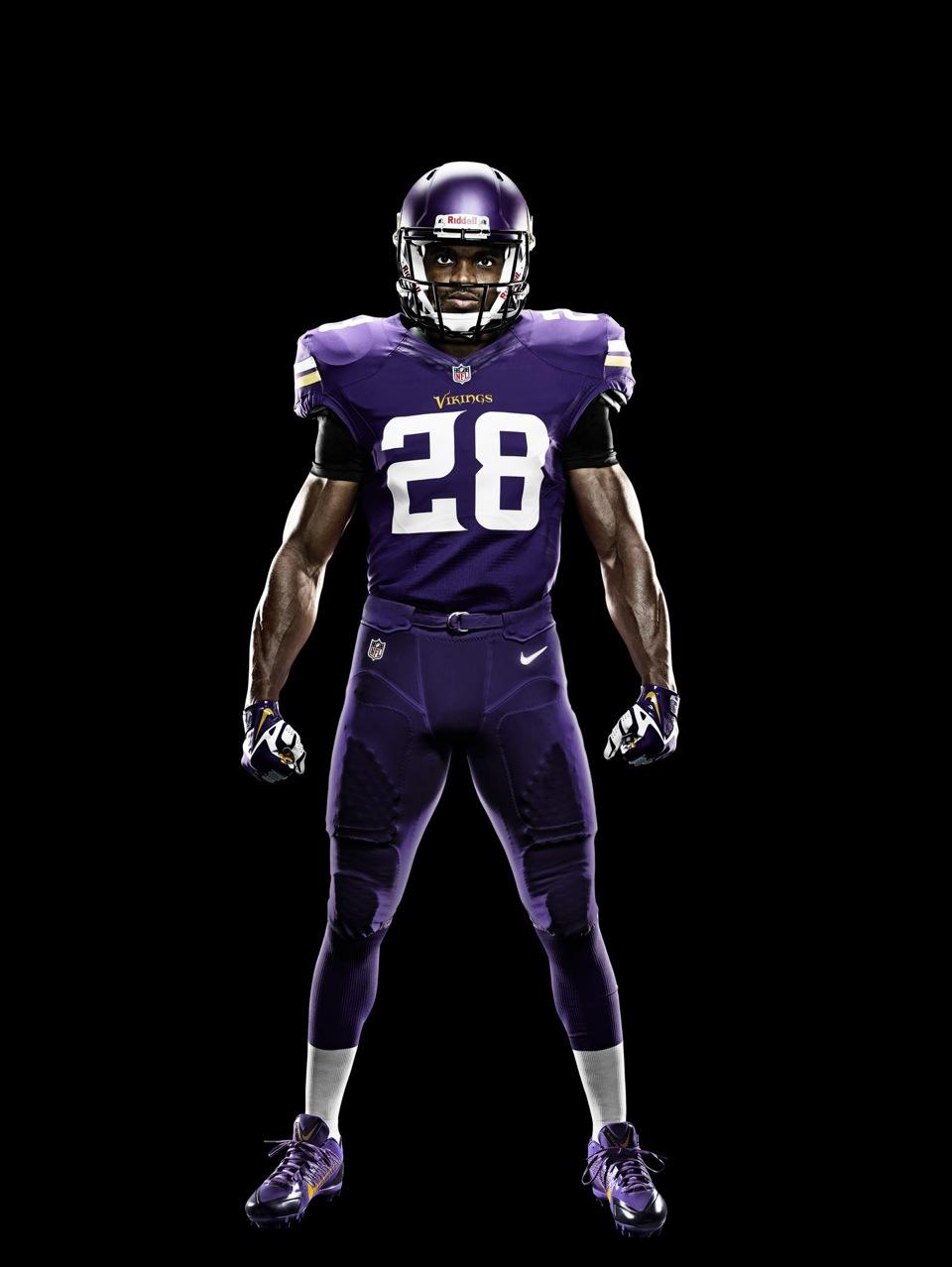 Minnesota Vikings Simplify Look with New Nike Uniform | Chris ...