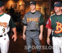 featured - Boise Hawks Northwest League uniforms brandiose