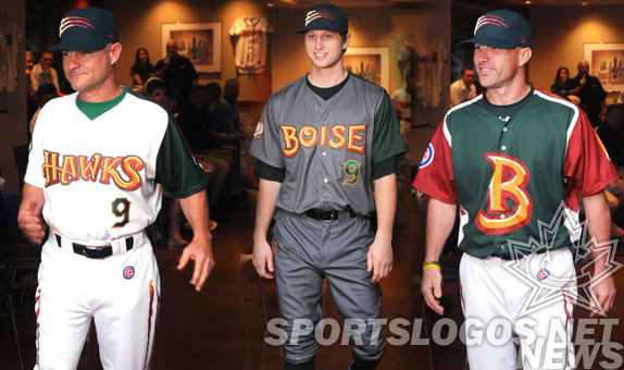 Boise Hawks go for Twilight Look, Add Glitter Accents with Scratches