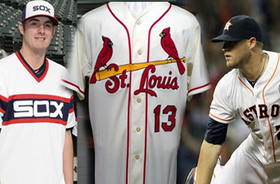 A Review of the New 2013 MLB Logos, Uniforms, Patches