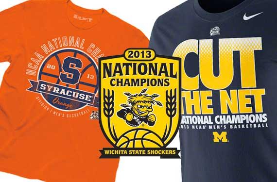 2013 NCAA Basketball Champs Phantom Merchandise