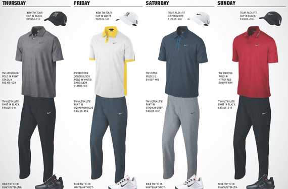 Nike Unveils Looks for Masters Tournament
