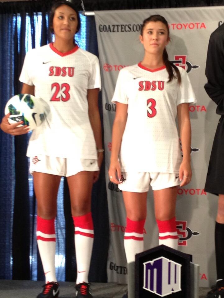 f93b9d1fb8a Women s Soccer – SDSU New Logo New Uniforms San Diego State Aztecs ...
