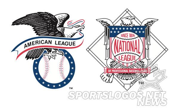 MLB Updates Both AL and NL League Logos