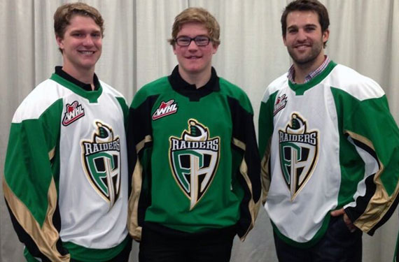 Back to Green: Prince Albert Raiders Unveil New Look